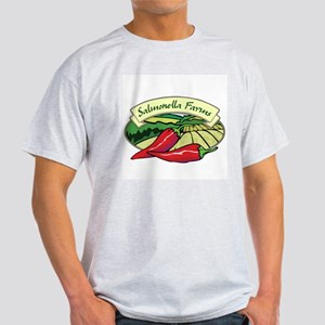 Salmonella Farms - Jalapeno Peppers Light T-Shirt
