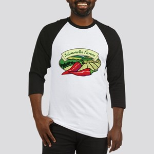 Salmonella Farms - Jalapeno Peppers Baseball Jerse