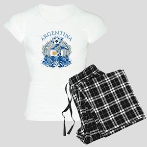 Argentina Soccer Women's Light Pajamas