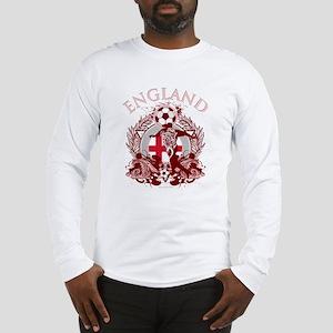 England Soccer Long Sleeve T-Shirt