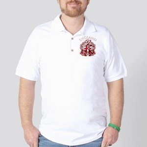 England Soccer Golf Shirt