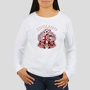 England Soccer Women's Long Sleeve T-Shirt