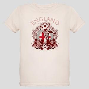 England Soccer Organic Kids T-Shirt