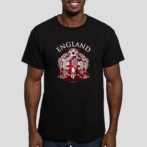 England Soccer Men's Fitted T-Shirt (dark)