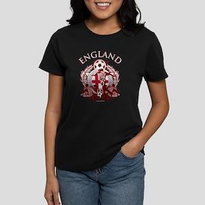 England Soccer Women's Dark T-Shirt