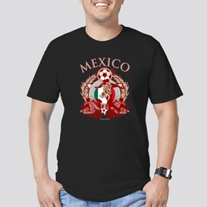 Mexico Soccer Men's Fitted T-Shirt (dark)