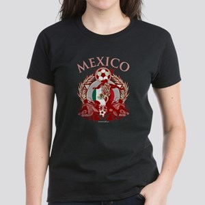 Mexico Soccer Women's Dark T-Shirt