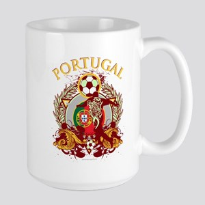 Portugal Soccer Large Mug