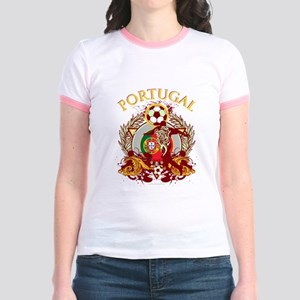 Portugal Soccer Jr. Ringer T-Shirt