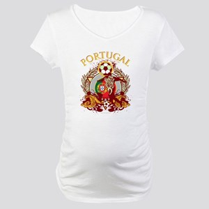 Portugal Soccer Maternity T-Shirt