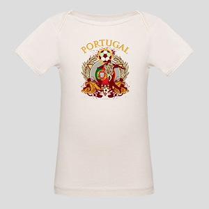 Portugal Soccer Organic Baby T-Shirt