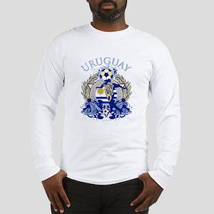 Uruguay Soccer Long Sleeve T-Shirt