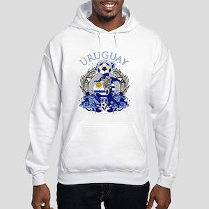 Uruguay Soccer Hooded Sweatshirt