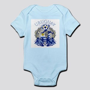 Uruguay Soccer Infant Bodysuit