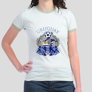 Uruguay Soccer Jr. Ringer T-Shirt
