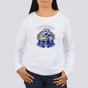 Uruguay Soccer Women's Long Sleeve T-Shirt