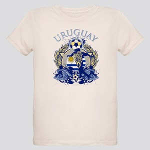 Uruguay Soccer Organic Kids T-Shirt