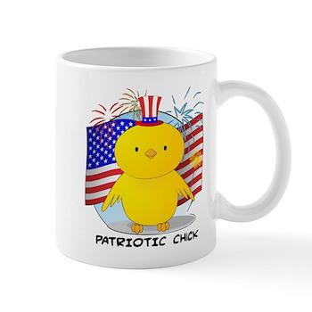 Patriotic Chick Mug