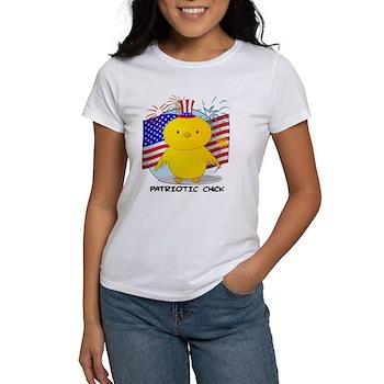 Patriotic Chick Women's T-Shirt