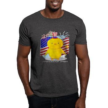 Patriotic Chick Dark T-Shirt