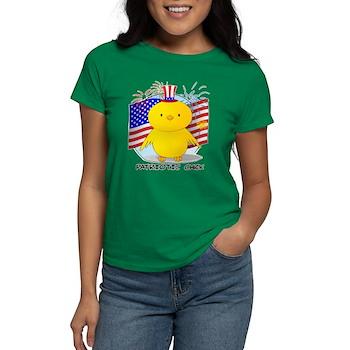 Patriotic Chick Women's Dark T-Shirt