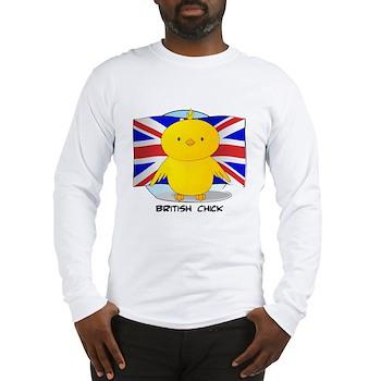 British Chick Long Sleeve T-Shirt