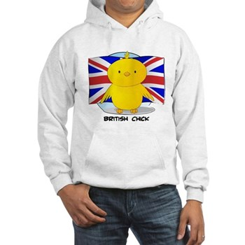 British Chick Hooded Sweatshirt