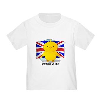 British Chick Toddler T-Shirt