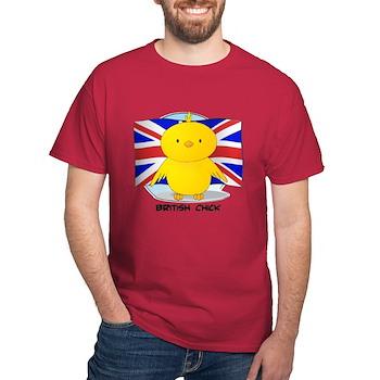 British Chick Dark T-Shirt