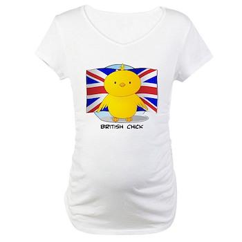 British Chick Maternity T-Shirt
