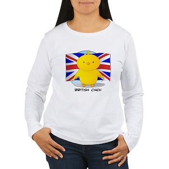 British Chick Women's Long Sleeve T-Shirt