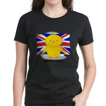 British Chick Women's Dark T-Shirt