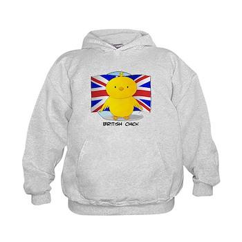 British Chick Kids Hoodie