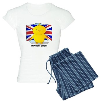British Chick Women's Light Pajamas