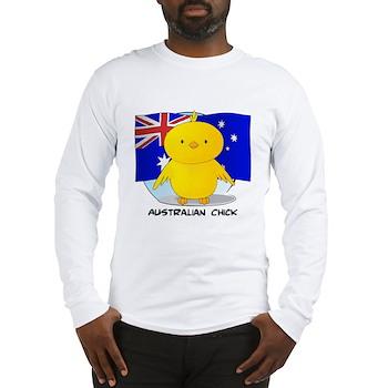 Australian Chick Long Sleeve T-Shirt