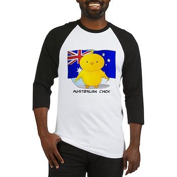 Australian Chick Baseball Jersey