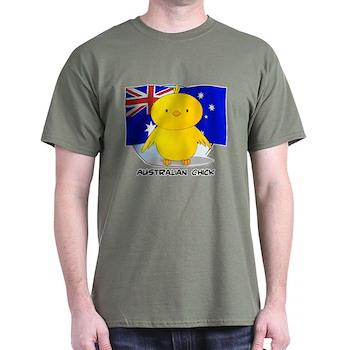 Australian Chick Dark T-Shirt