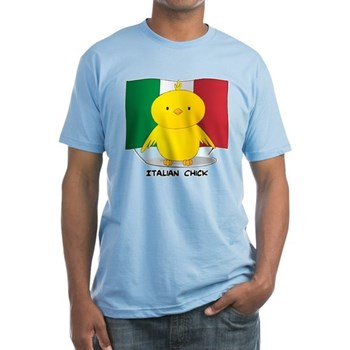 Italian Chick Fitted T-Shirt