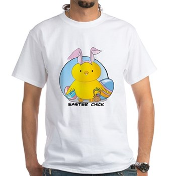 Easter Chick White T-Shirt