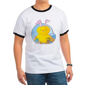 Easter Bunny Chick Ringer T