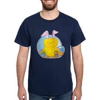 Easter Bunny Chick Dark T-Shirt