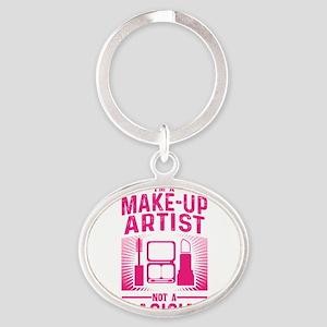 Im a Make Up Artist Not a Magician Desig Keychains