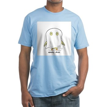 Spooky Chick Fitted T-Shirt