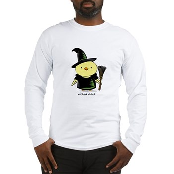 Wicked Chick Long Sleeve T-Shirt