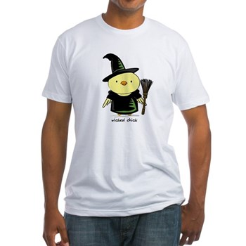 Wicked Chick Fitted T-Shirt
