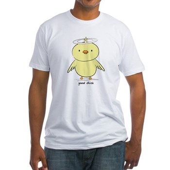 Good Chick Fitted T-Shirt