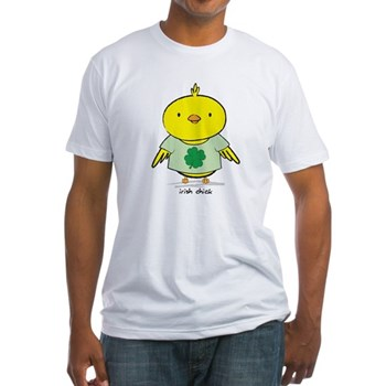 Irish Chick Fitted T-Shirt