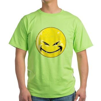 Smiley Face -Distressed Devil Light T-Shirt
