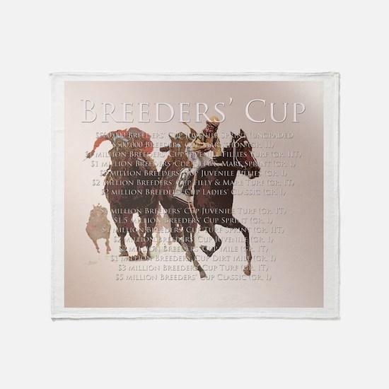 Breeders' Cup Throw Blanket