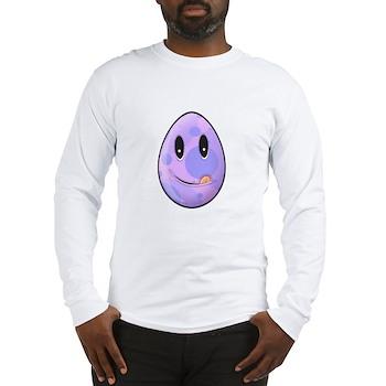 Polka Dot Easter Egg Long Sleeve T-Shirt